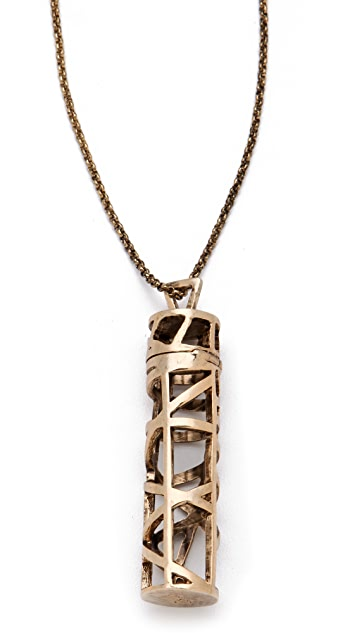 Low Luv x Erin Wasson Cage Vial Necklace