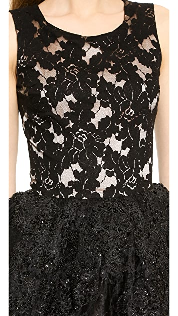 Loyd/Ford Beaded Lace Dress