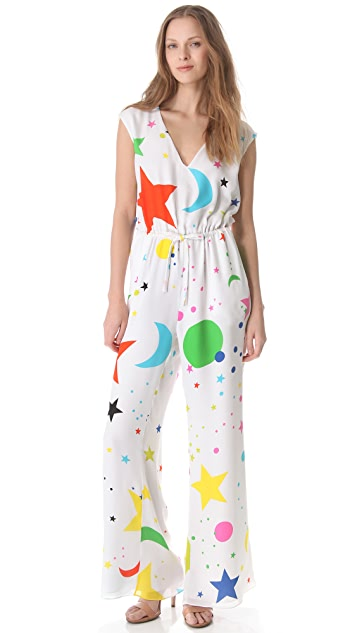 Lisa Perry Galaxy Moon Jumpsuit