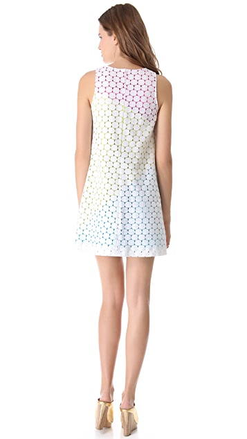 Lisa Perry Moon Swirl Dress