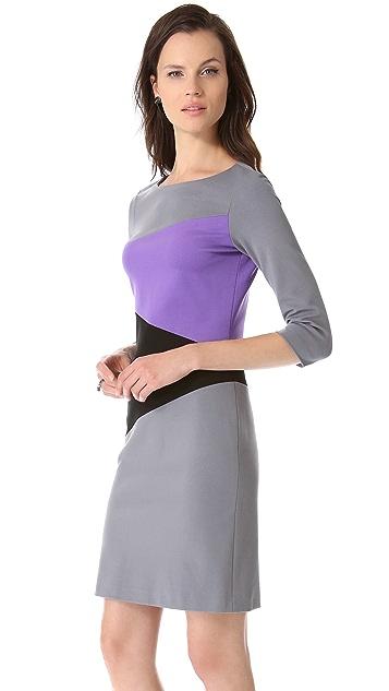 Lisa Perry Diagonal Dress
