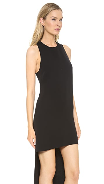 Lisa Perry Racer Back High Low Dress