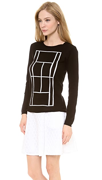 Lisa Perry Tennis Court Sweater