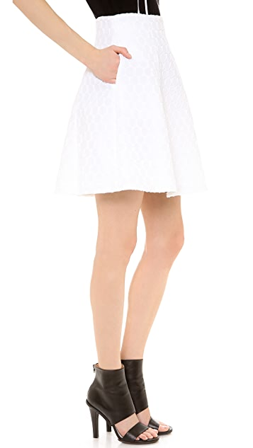 Lisa Perry Mini Dot Space Skirt