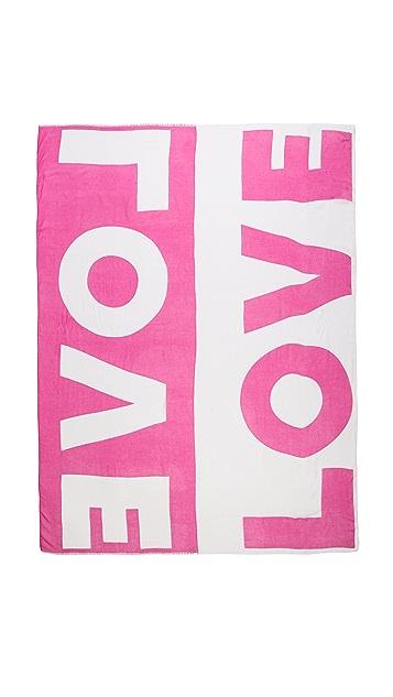 Lisa Perry Printed Love Scarf