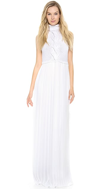 Lisa Perry Sleeveless Gown