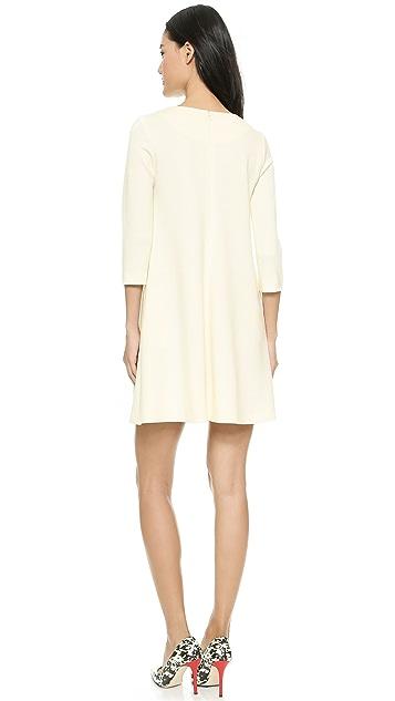 Lisa Perry Seamed Swing Dress