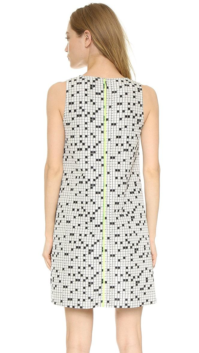 Lisa Perry Crossword Swing Dress Shopbop