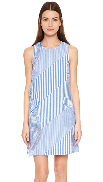 Lisa Perry Fringe A Line Dress