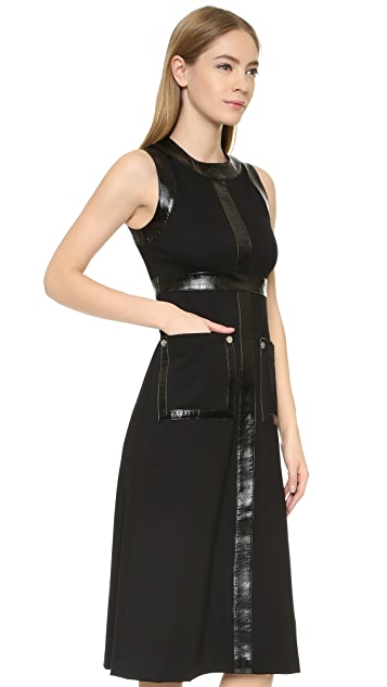 Lisa Perry Uniform Midi Dress