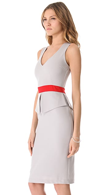 LRK Diana Peplum Sheath Dress