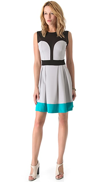 LRK Drew Illusion Bodice Dress