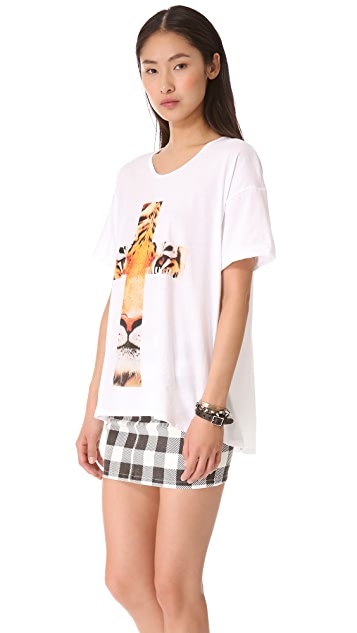 The Laundry Room Praise Big Cats Oversized Tee