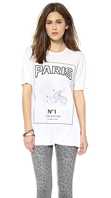 The Laundry Room Paris Football Tee