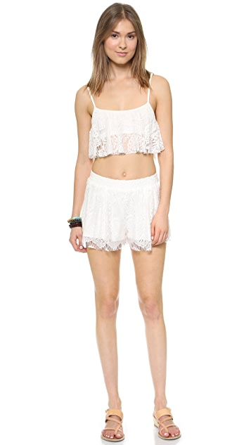 Love Sadie Lace Shorts