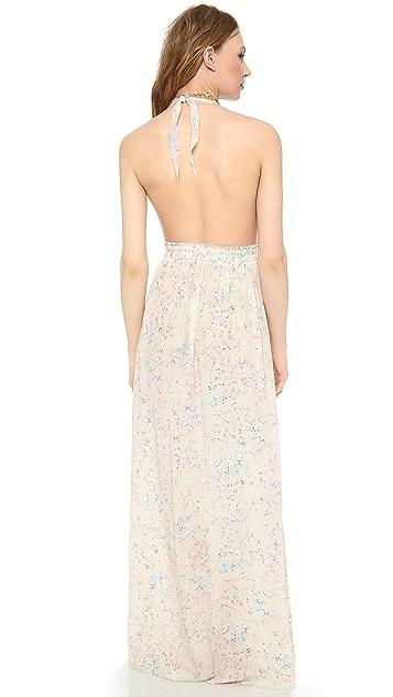 LOVESHACKFANCY Crystal Batik Love Dress