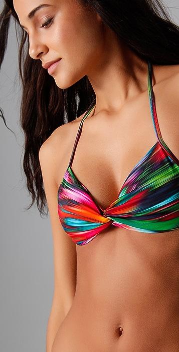 L*Space Desert Heat Twister Bikini Top