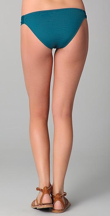 L*Space Foxy Tab Full Cut Bikini Bottoms