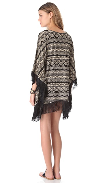 L*Space Sahara Dreams Poncho Cover Up