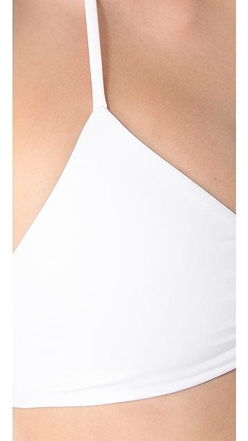 L*Space Sensual Solids Bikini Top