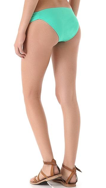 L*Space Sensual Solids Foxy Tab Bikini Bottoms