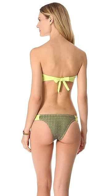 L*Space Mad Mesh Kelsey Reversible Bikini Top