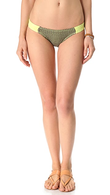 L*Space Mad Mesh Scanty Bikini Bottoms
