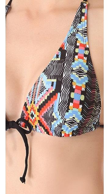 L*Space Sexy Back Bikini Top