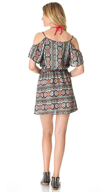 L*Space Tribe Cold Shoulder Cover Up Dress