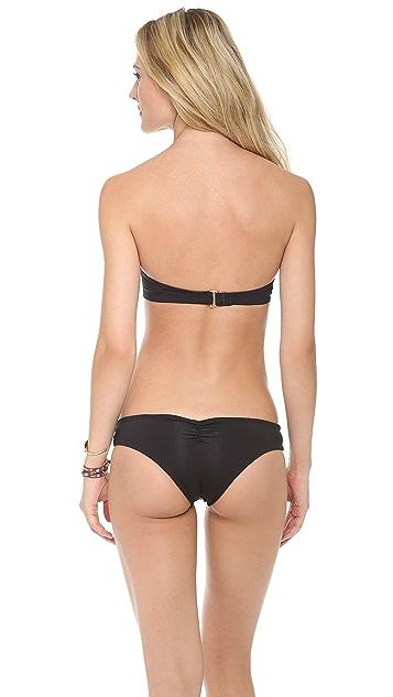 L*Space Sensual Solids Demi Bikini Top