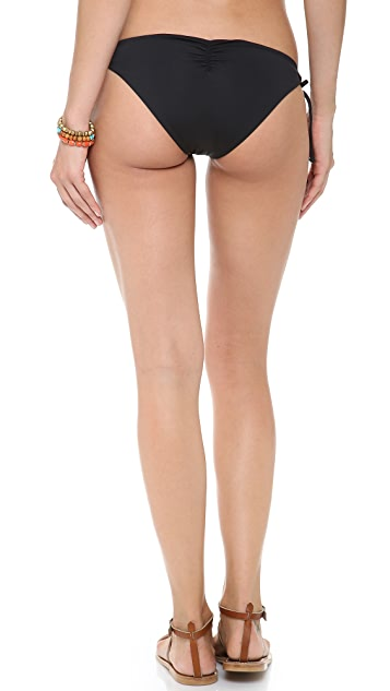 L*Space Sensual Solids Dandy Bikini Bottoms