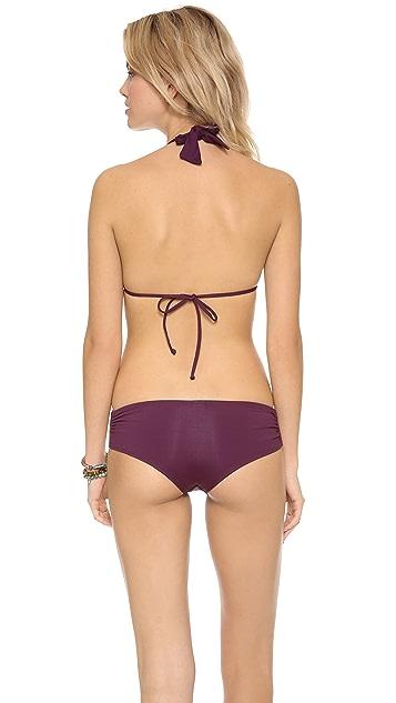 L*Space Mixer Angel Halter Bikini Top