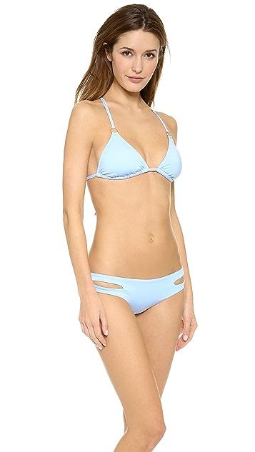 L*Space Liv Triangle Bikini Top