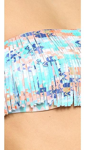 L*Space Arrows Jessie Reversible Bikini Top