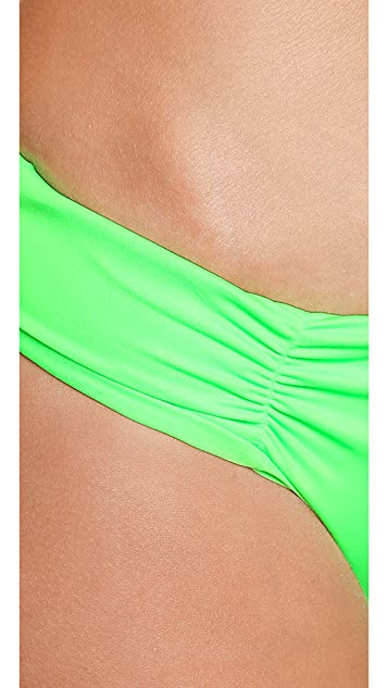 L*Space Neon Lime Mixer Monique Bikini Bottoms