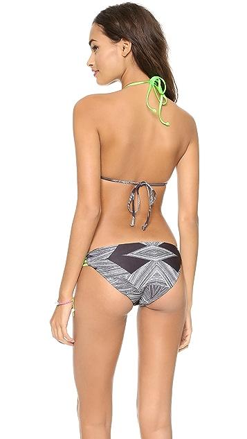 L*Space Congo Skinnie Minnie Bikini Top