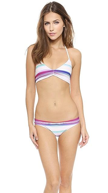 L*Space Mirage Strap Back Bikini Top