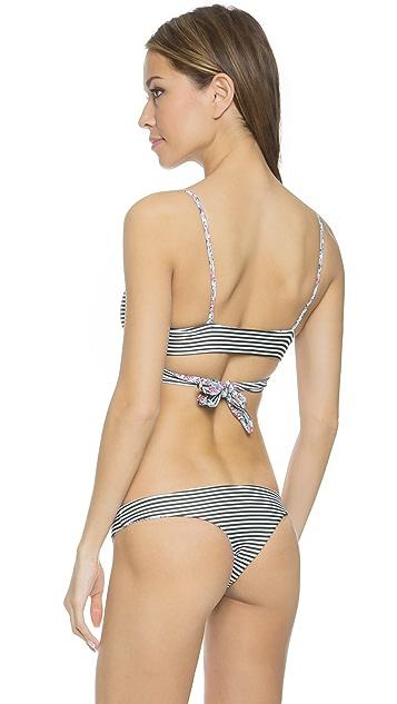 L*Space Gypsy Chloe Wrap Bikini Top
