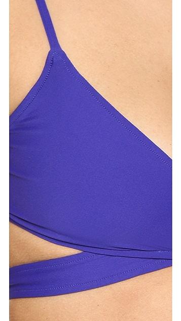 L*Space Chloe Wraparound Bikini Top