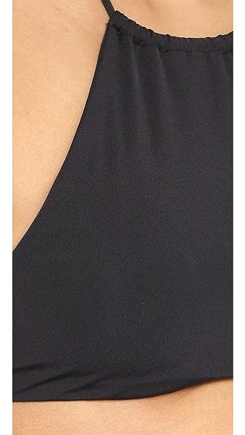 L*Space Lizzie Wrap Bikini Top