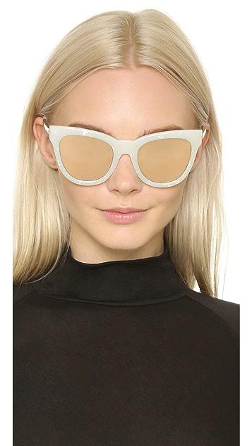 Le Specs Le Debutante Sunglasses