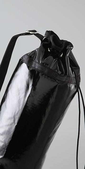 LeSportsac Patent Asana Yoga Bag