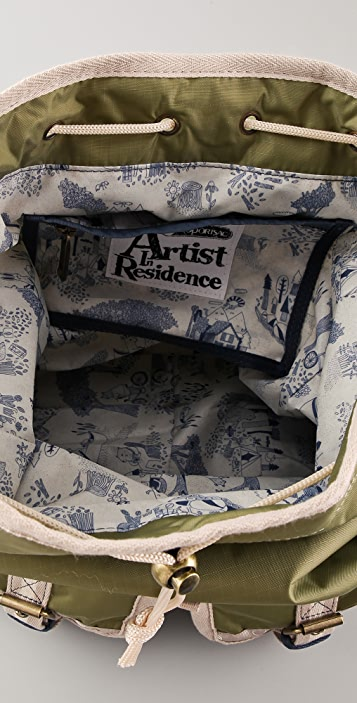 LeSportsac Kate Sutton Artist in Residence Double Pocket Backpack
