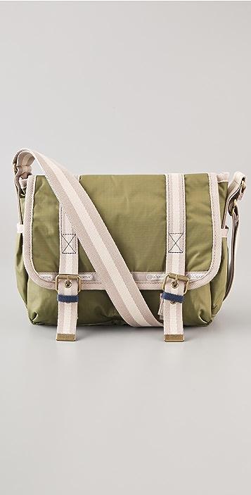 LeSportsac Kate Sutton Artist In Residence Two Pocket Messenger Bag