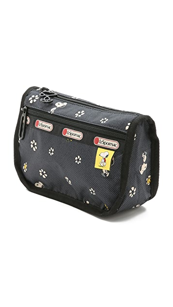 LeSportsac Peanuts X LeSportsac Travel Cosmetic Case