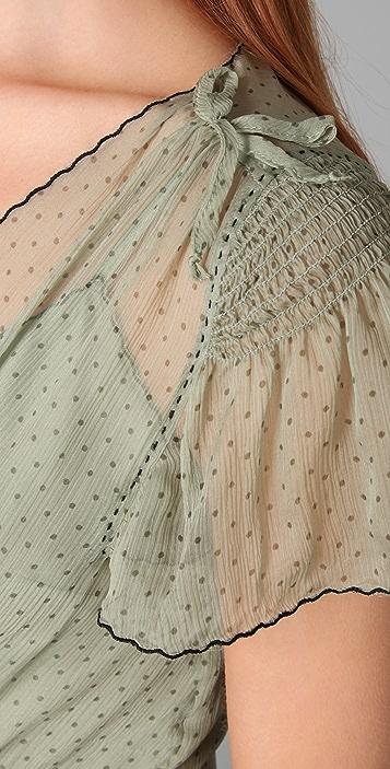 Lucy in Disguise Regatta Pin Dot Dress