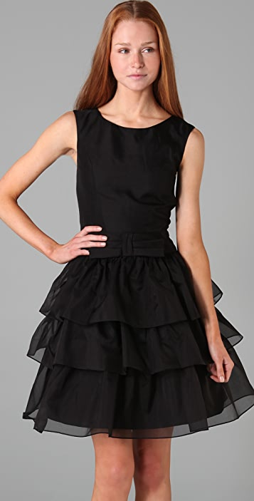 Lucy in Disguise Jitterbug Dress with Tiered Skirt