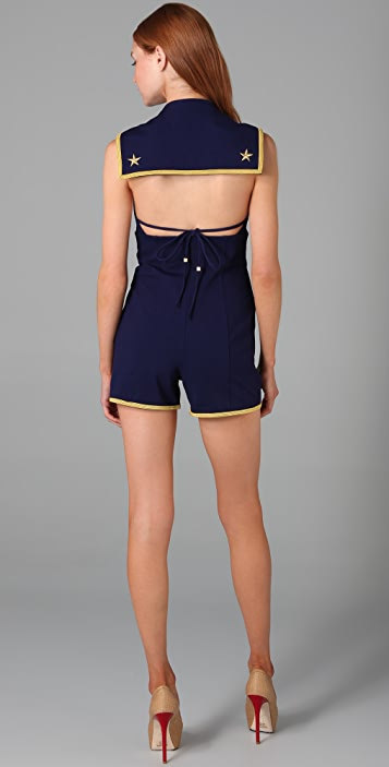 Lucy in Disguise Antibes Sailor Romper