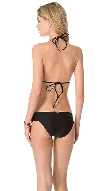 Luli Fama Sweet Seduction Lace Bandeau Bikini Top