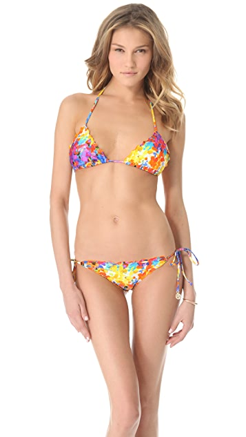 Luli Fama Dulce Tormento Wavy Triangle Bikini Top
